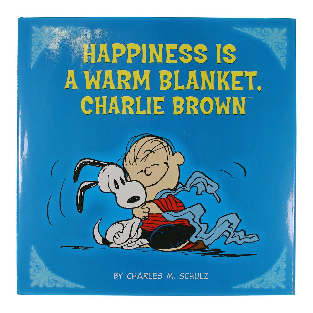 Book: Happiness Is A Warm Blanket Charlie Brown 7509895418