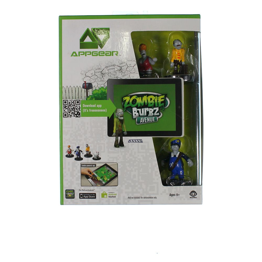 Image of Game: AppGear - ZombieBurbz Avenue Figures