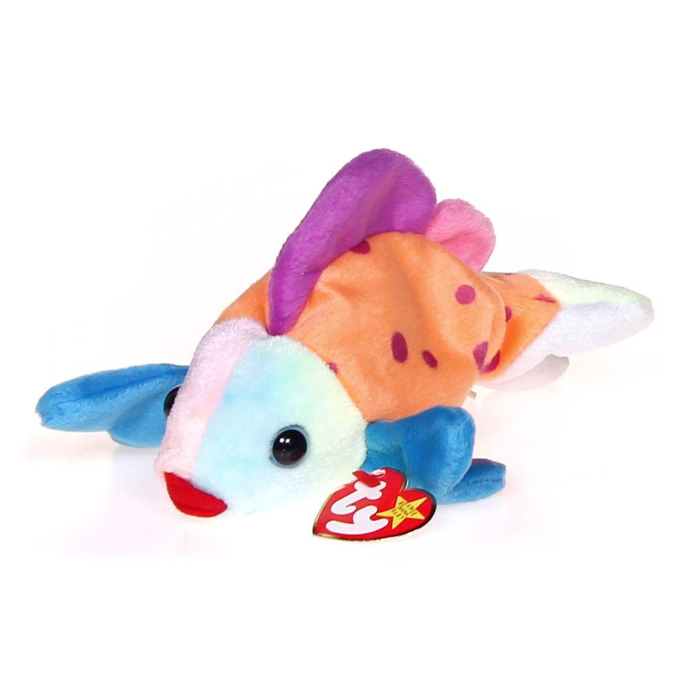 Image of 1 X Ty Beanie Babies - Lips the Fish