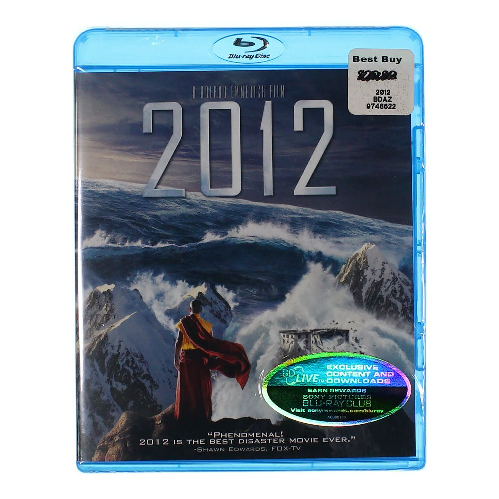 Movie: 2012 (Single Disc Version) [Blu-ray] 7522571095