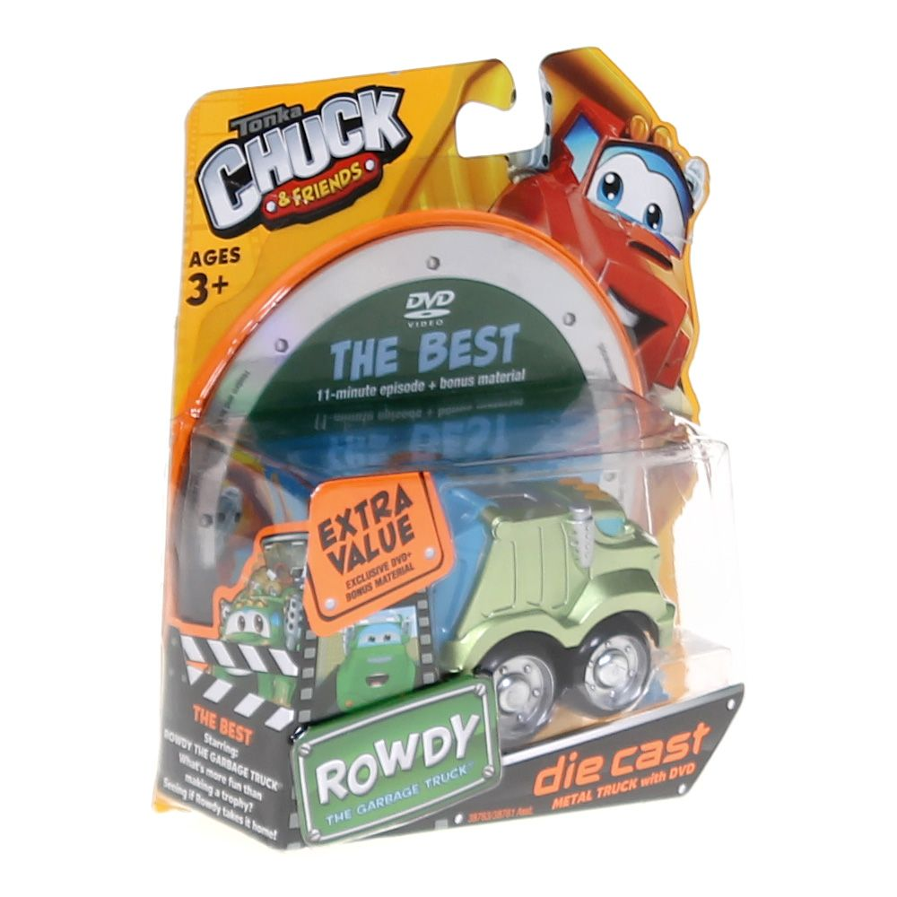 Image of Tonka Chuck & Friends Die Cast With DVD