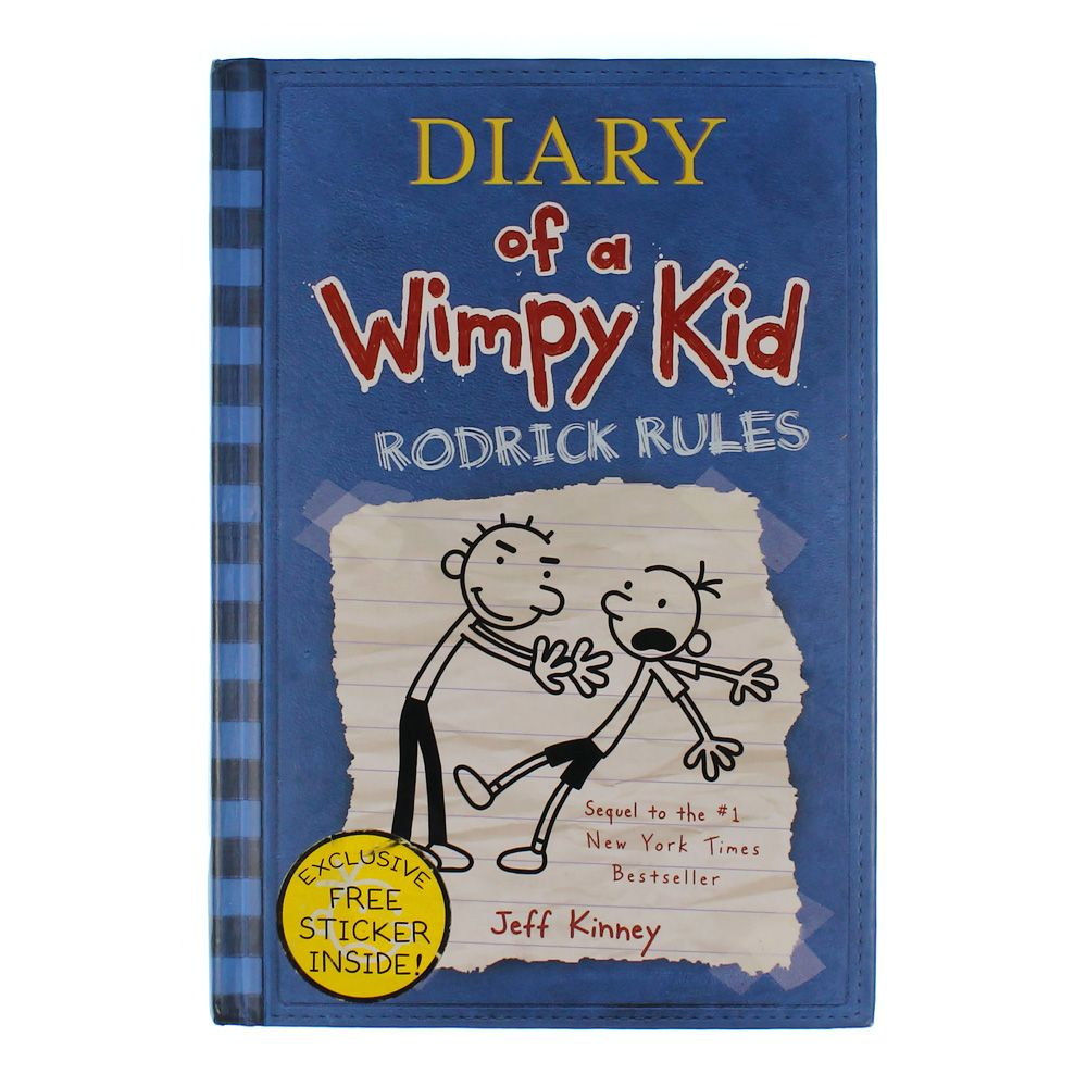 Book: Diary of a Wimpy Kid Rodrick Rules 7531759960