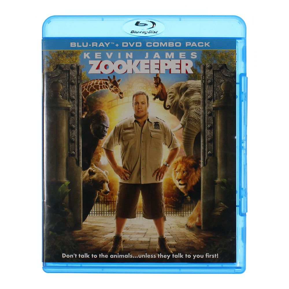 Movie: Zookeeper (Two-Disc Blu-ray/DVD Combo) 7534723007