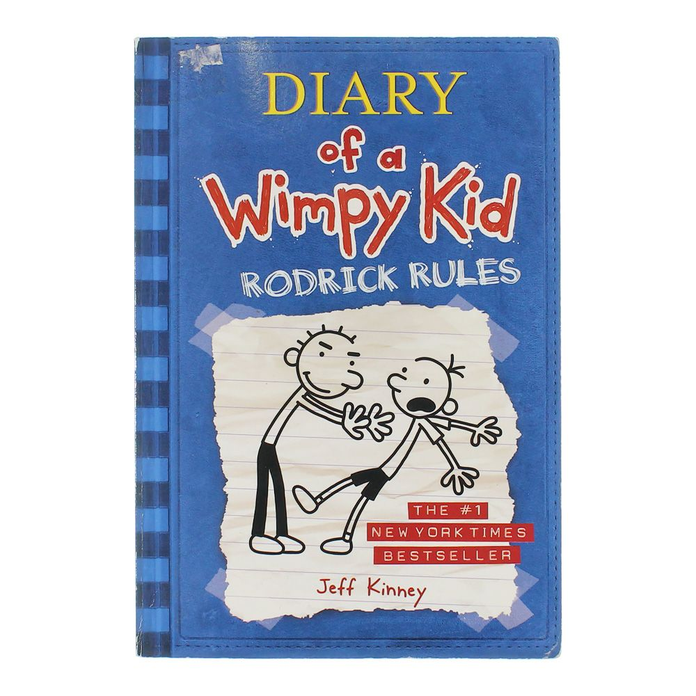 Book: Diary of a Wimpy Kid Rodrick Rules 7536888858