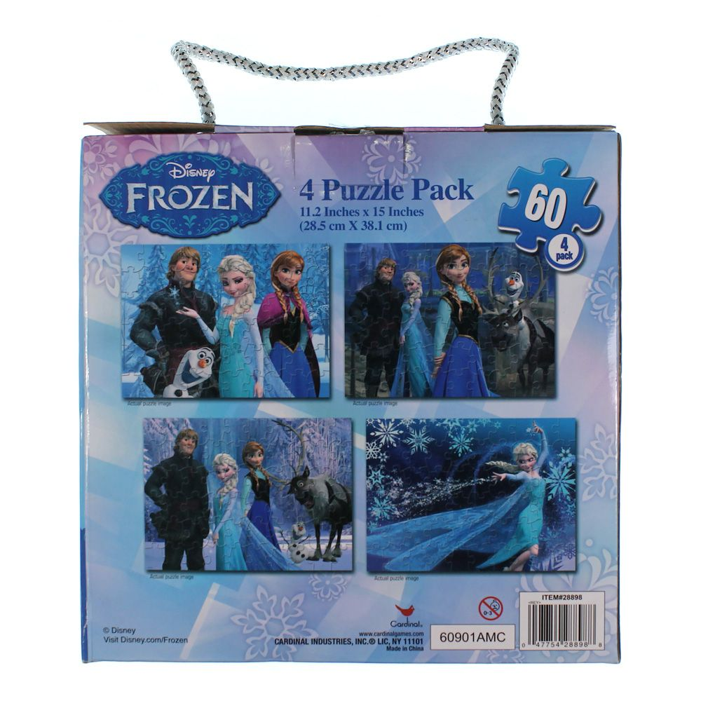 Disney Frozen 4 Pack Puzzle Set 7542645188
