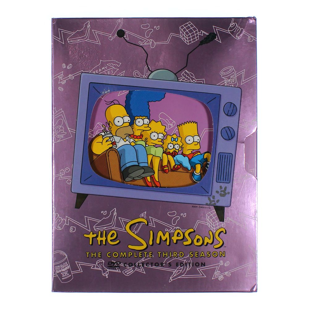 TV-series: The Simpsons - The Complete Third Season 7551085684