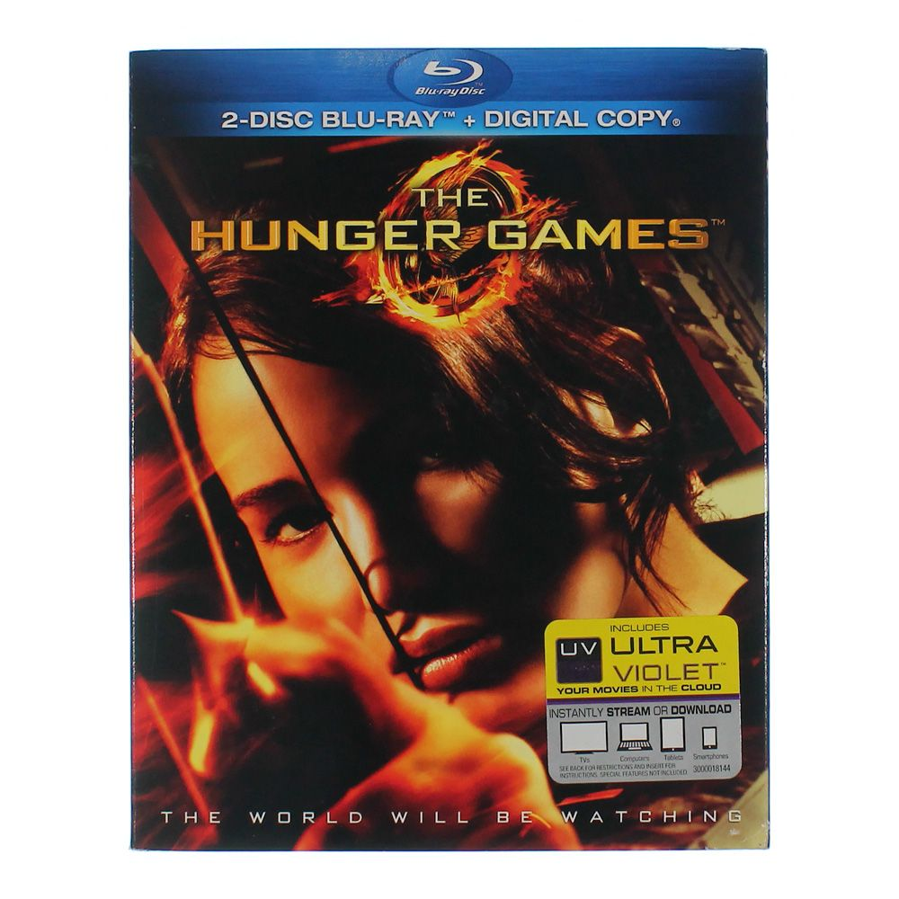 Movie: The Hunger Games (Blu-ray + Digital Copy) 7553164629