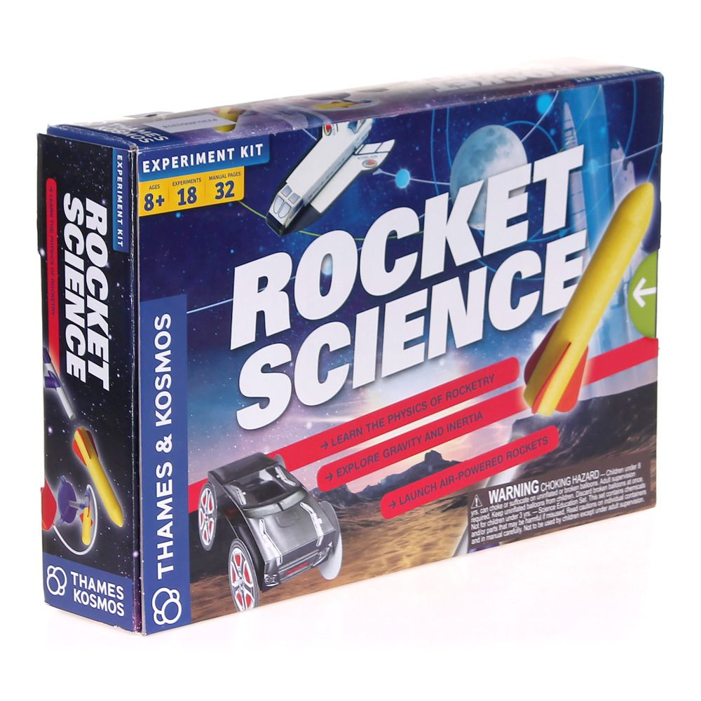 Thames & Kosmos Rocket Science Science Experiment Kit 7554005231