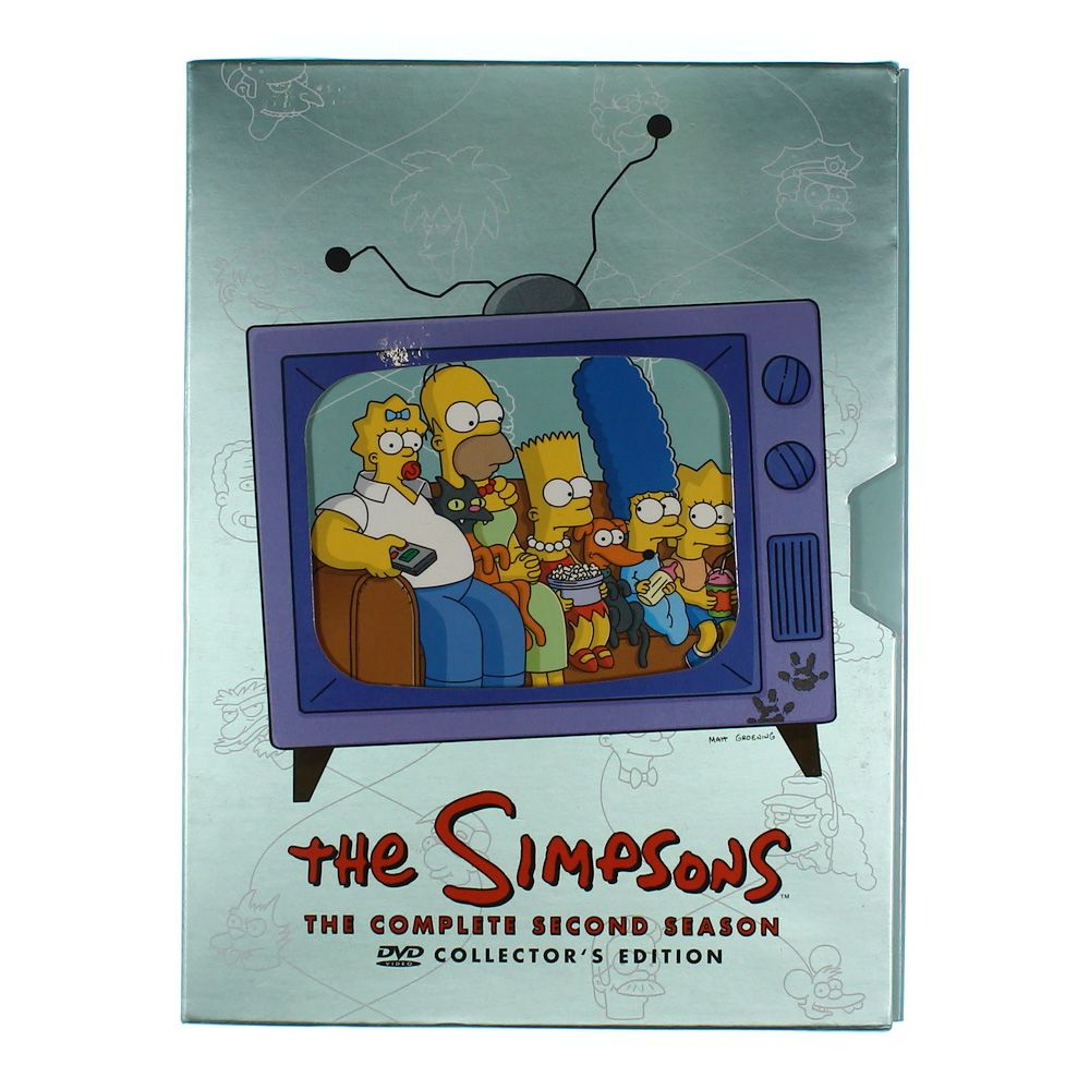 TV-series: The Simpsons - The Complete Second Season 7554909329