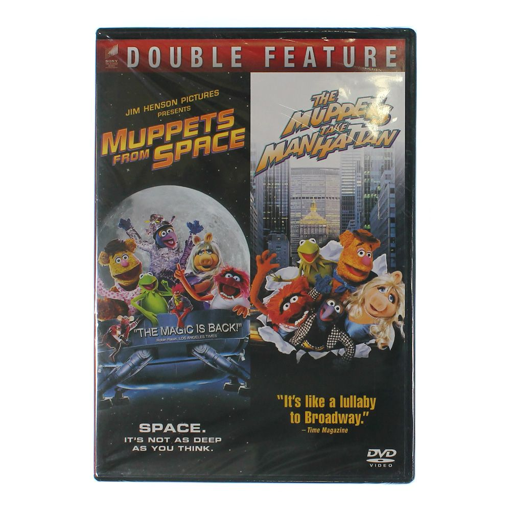 Movie: Muppets From Space/The Muppets Take Manhattan 7563447371