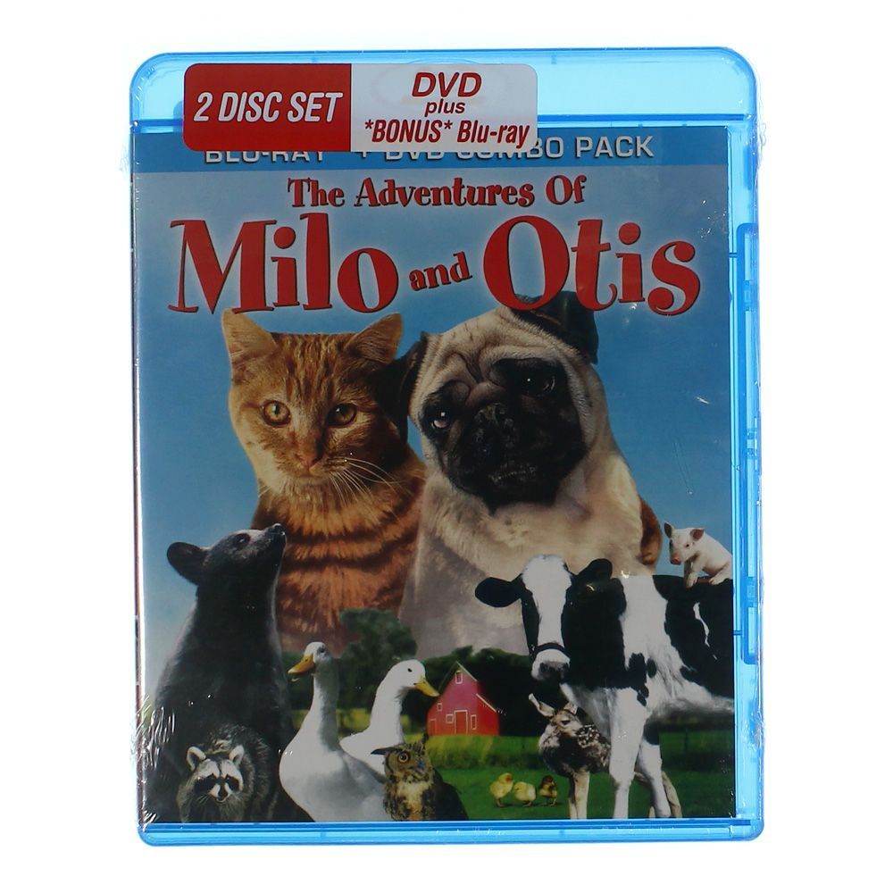 Movie: The Adventures of Milo and Otis 7566077960