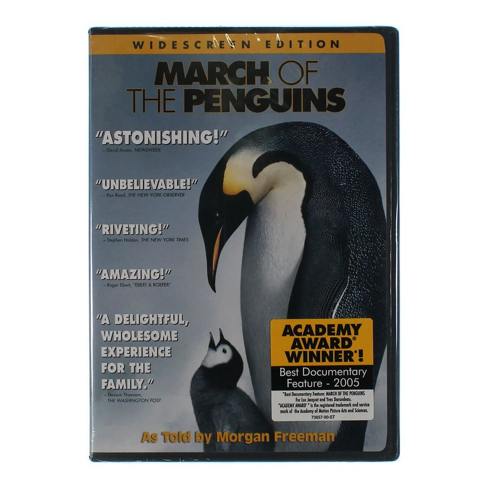 Movie: March of the Penguins [DVD] [Eng/Spa] [2005] 7577849540