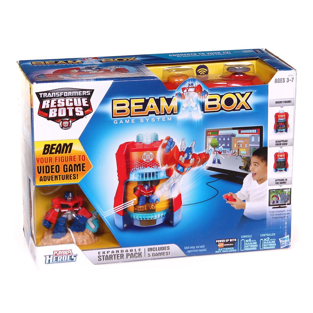 Playskool Heroes Transformers Rescue Bots Beam Box Game System 7582235000