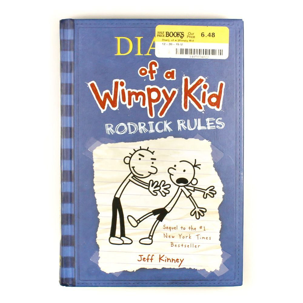 Book: Diary of a Wimpy Kid Rodrick Rules 7595703022