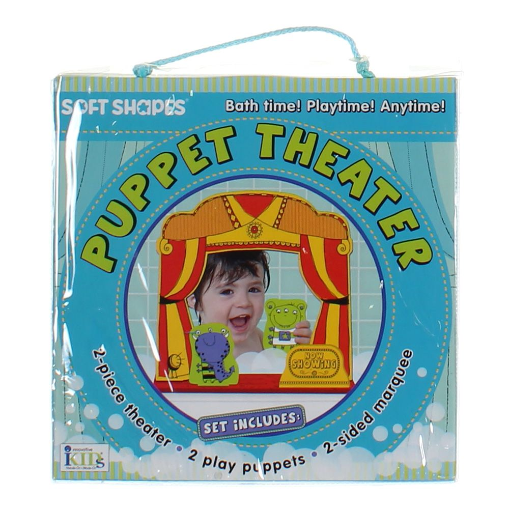 Image of Innovative Kids Puppet Play: Puppet Theater Starter Set