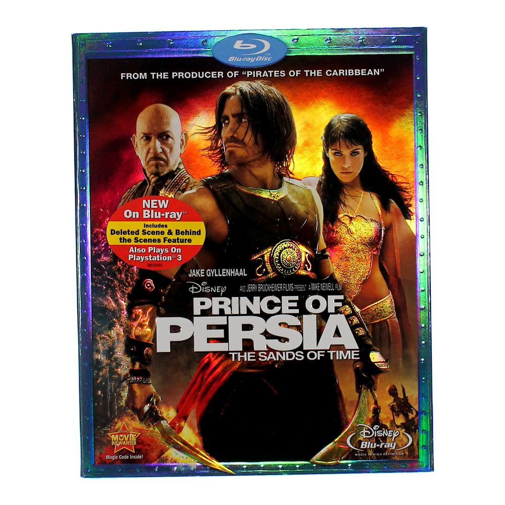 Movie: Prince of Persia: The Sands of Time [Blu-ray] 7622224937