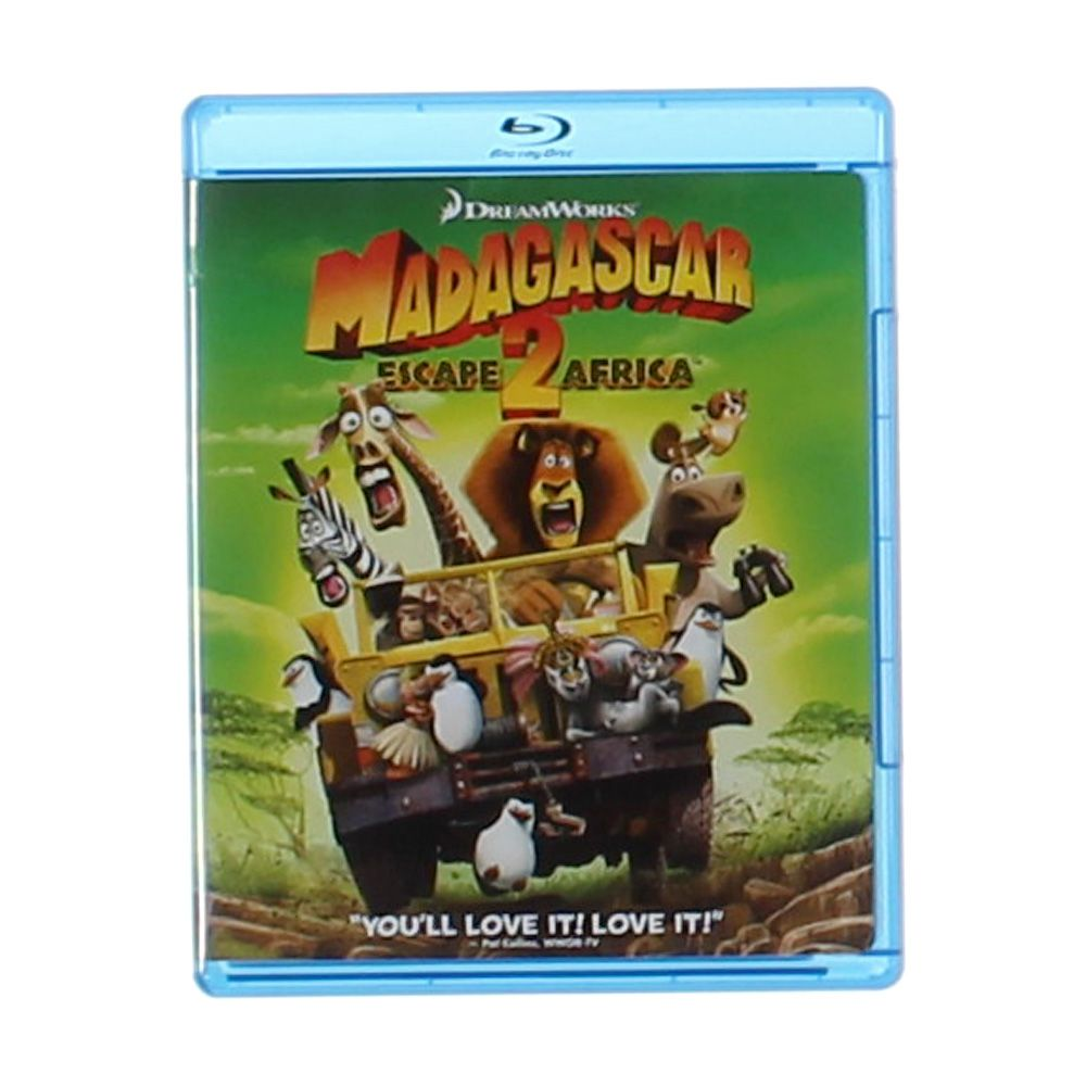 Movie: Madagascar: Escape 2 Africa [Blu-ray] 7659650786