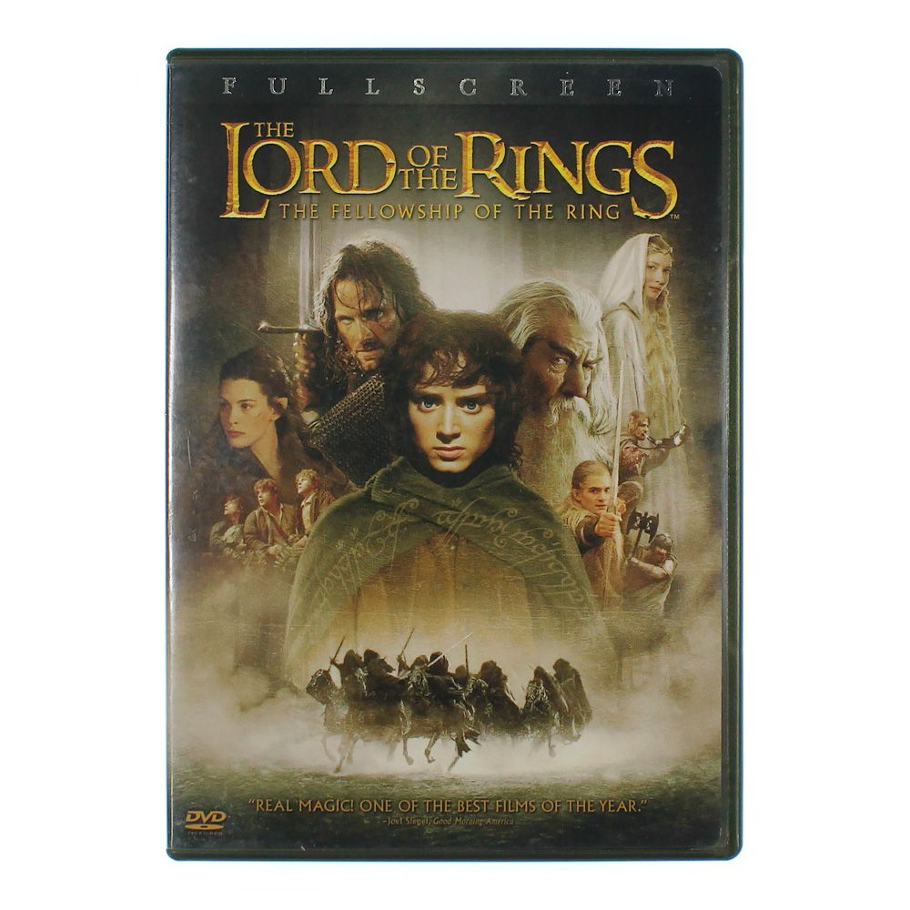 Movie: Lord Of the Rings: The Fellowship of the Ring [P&S] [2 Discs] (P&S) 7665934115