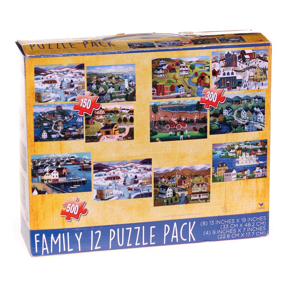 Family 12 Puzzle Pack Puzzle 7679232675