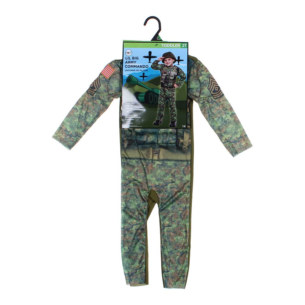 """Image of """"Army Commando Costume, size 2/2T"""""""