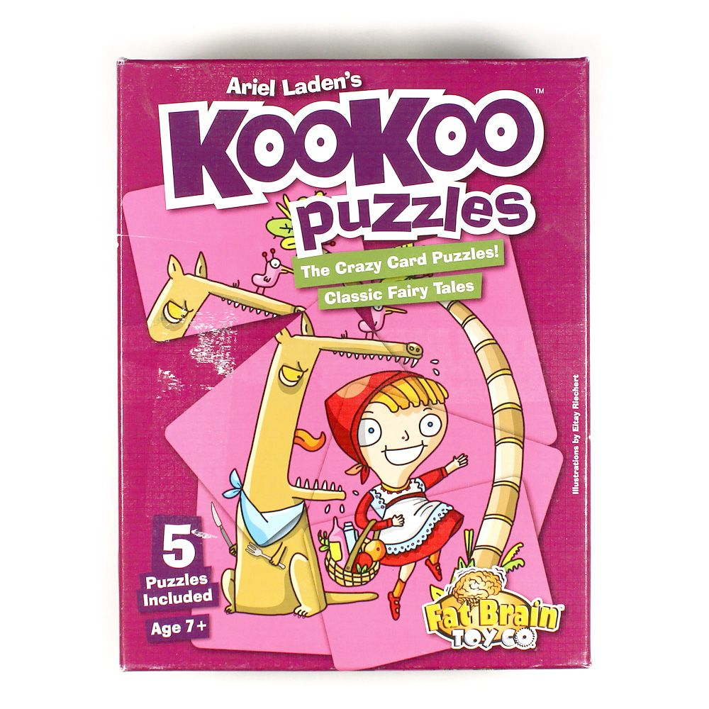 Fat Brain Toys KooKoo Puzzles - Classic Fairy Tales Puzzle 7708998750