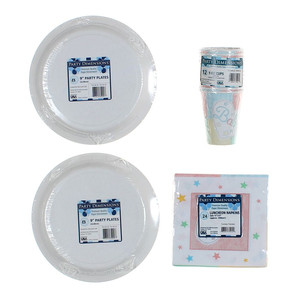 Cup Napkin & Plate Set 7710024816