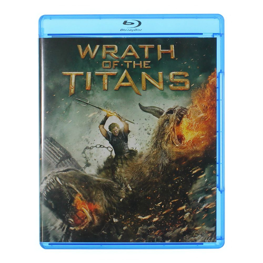 Movie: Wrath Of The Titans (Blu-ray) 7729894513