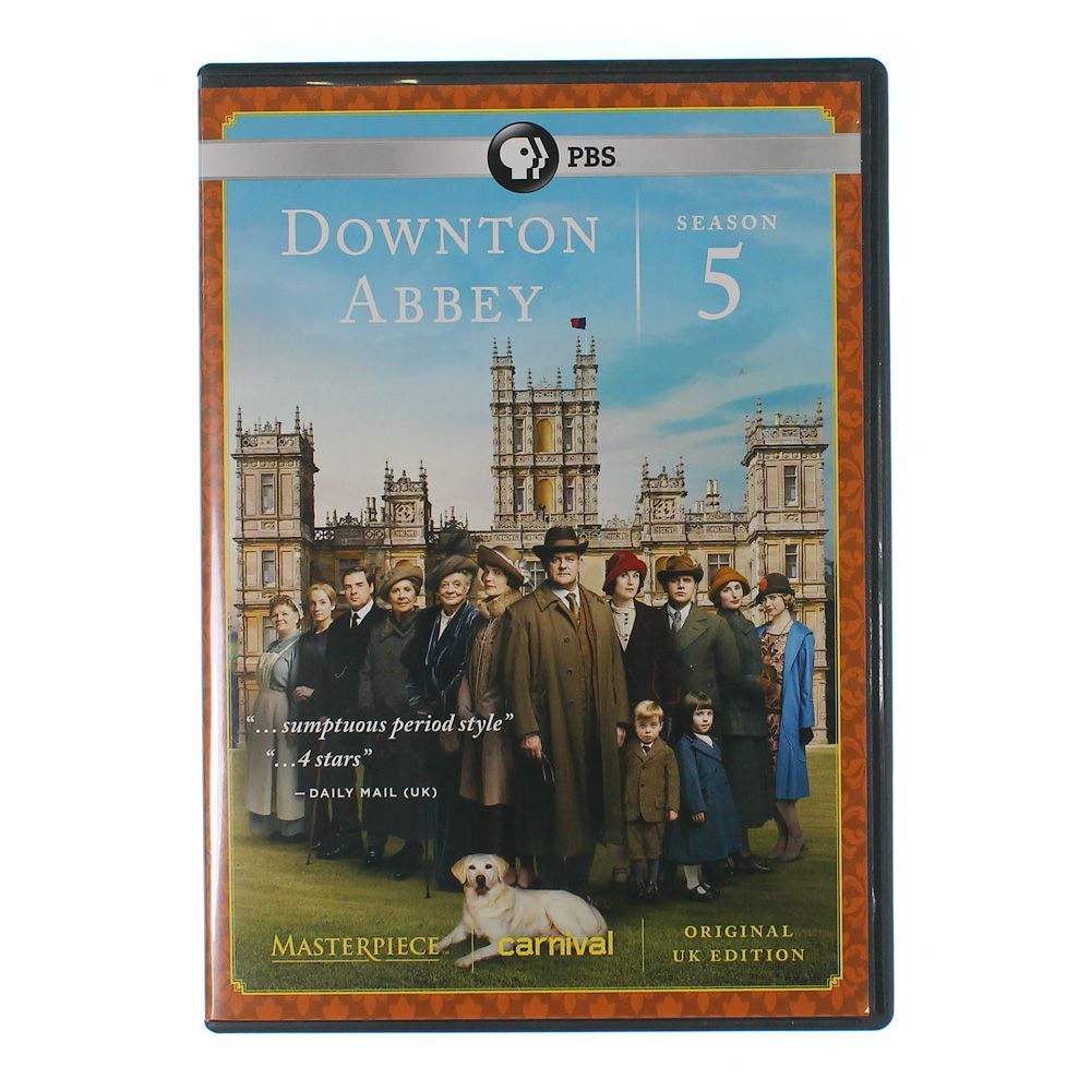 DVD: Masterpiece: Downton Abbey 7768592207