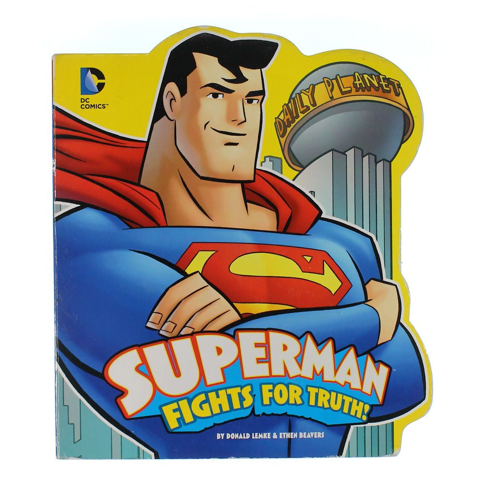 Book: Superman fights for truth 7795716243