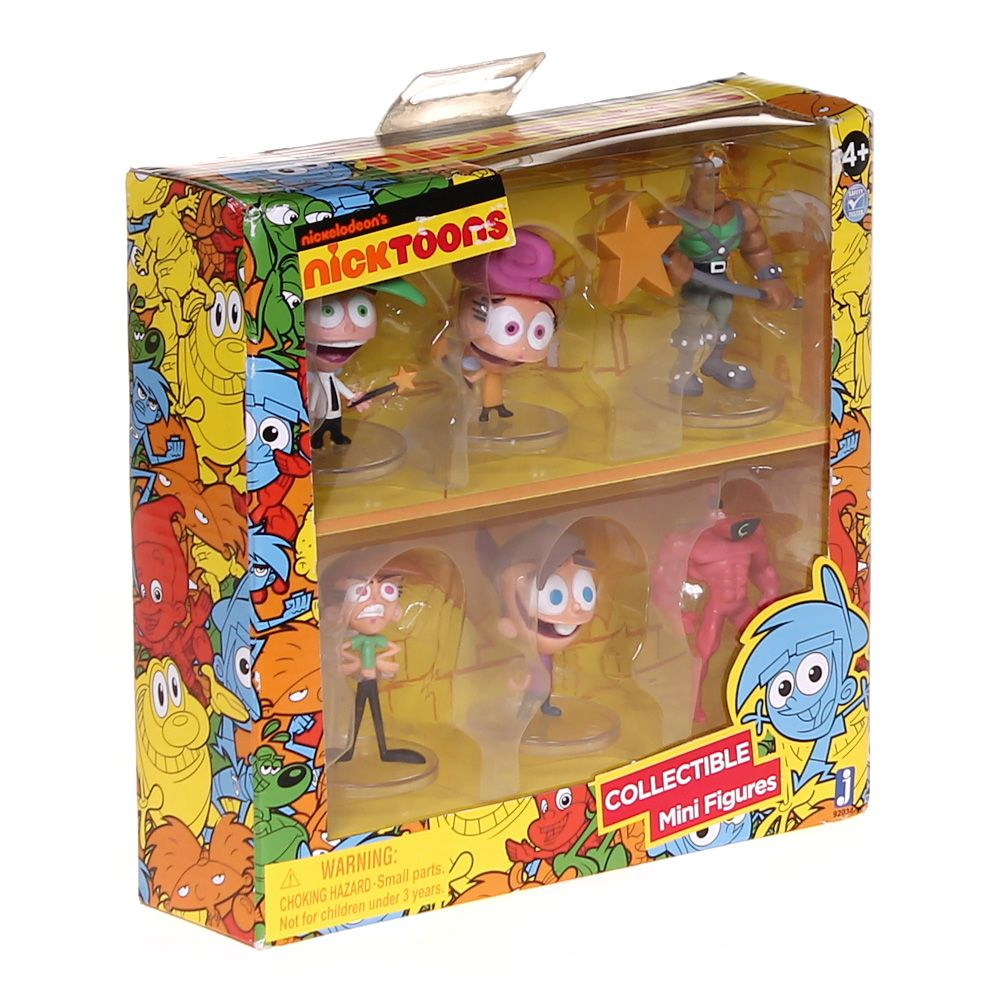 The Fairly OddParents Collectible Mini Figures Deluxe Pack 7804113370
