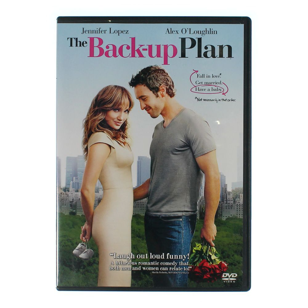 DVD: The Back-Up Plan 7804139137