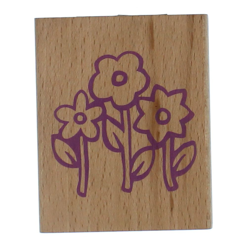 Trademark Games Wood Mounted Rubber Stamp 7804990435