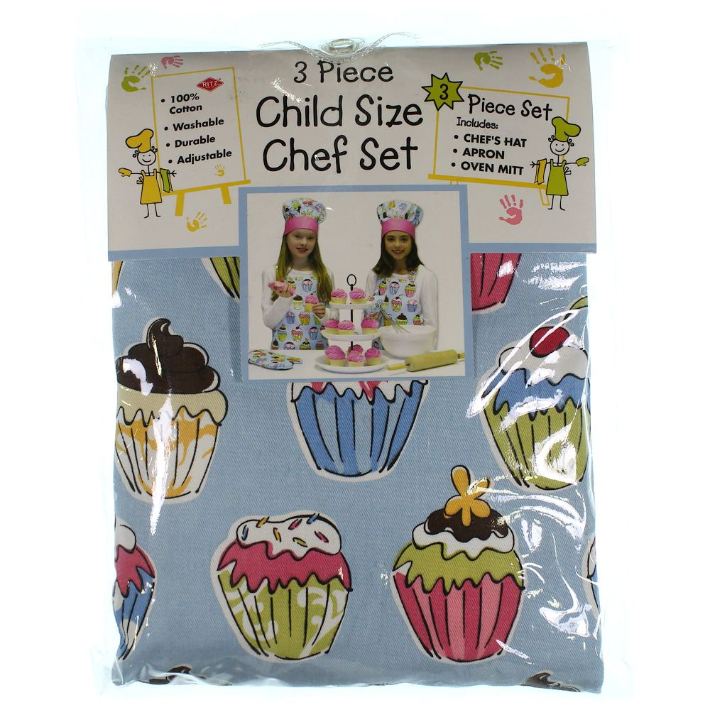 "Image of ""3 Piece Chef Set, size One Size"""