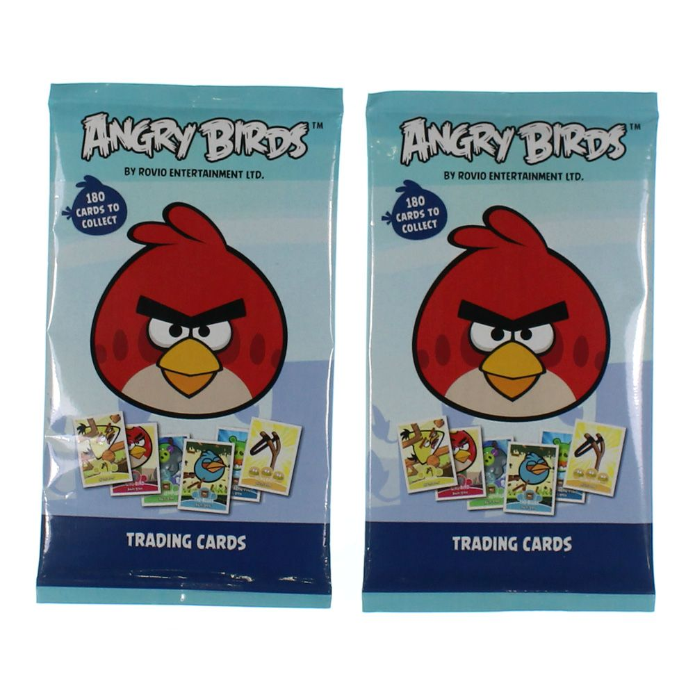 Image of Game: Angry Birds Trading Cards