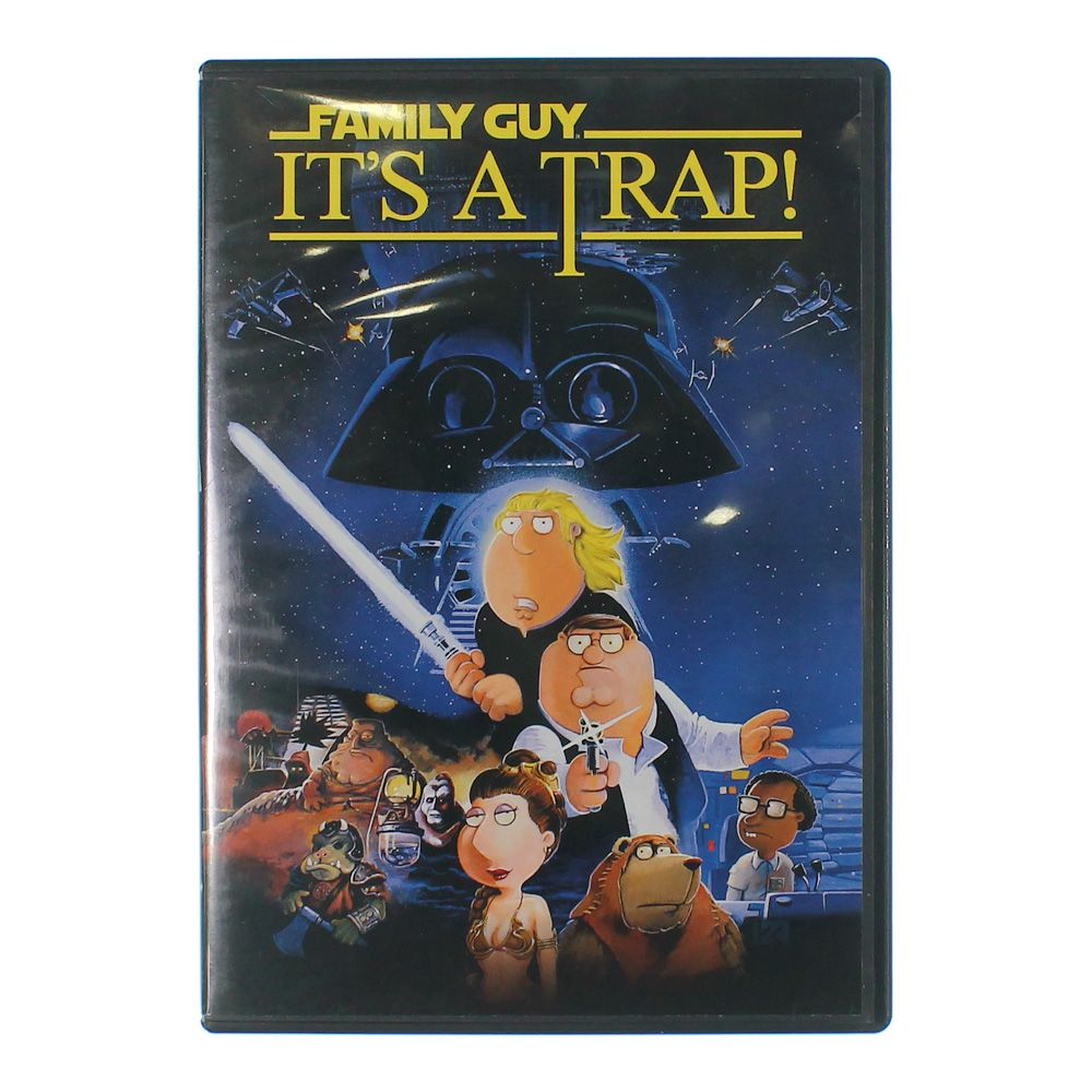 Movie: Family Guy: It's A Trap! (Blu-ray) (Widescreen) 7896050828