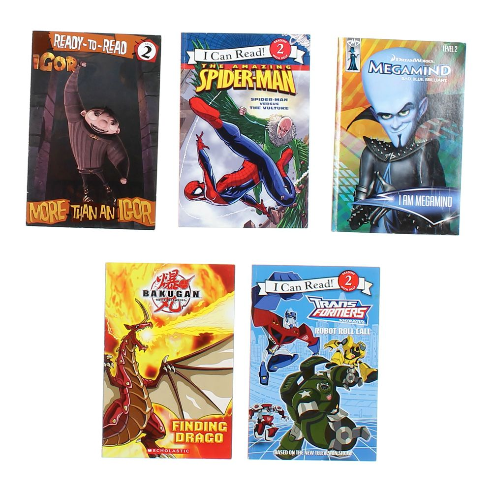 I Can Read Character Book Set 7946176099