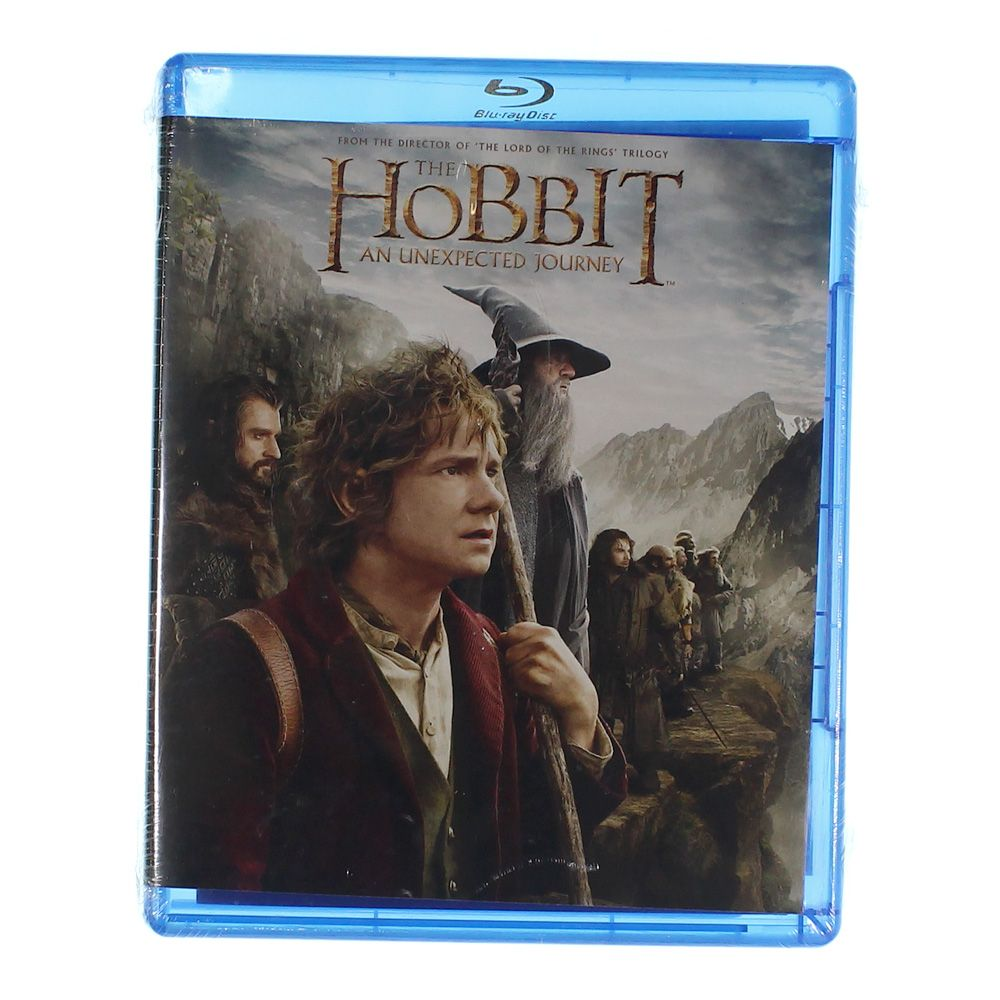 Movie: The Hobbit: An Unexpected Journey (Blu-ray) 7947202411