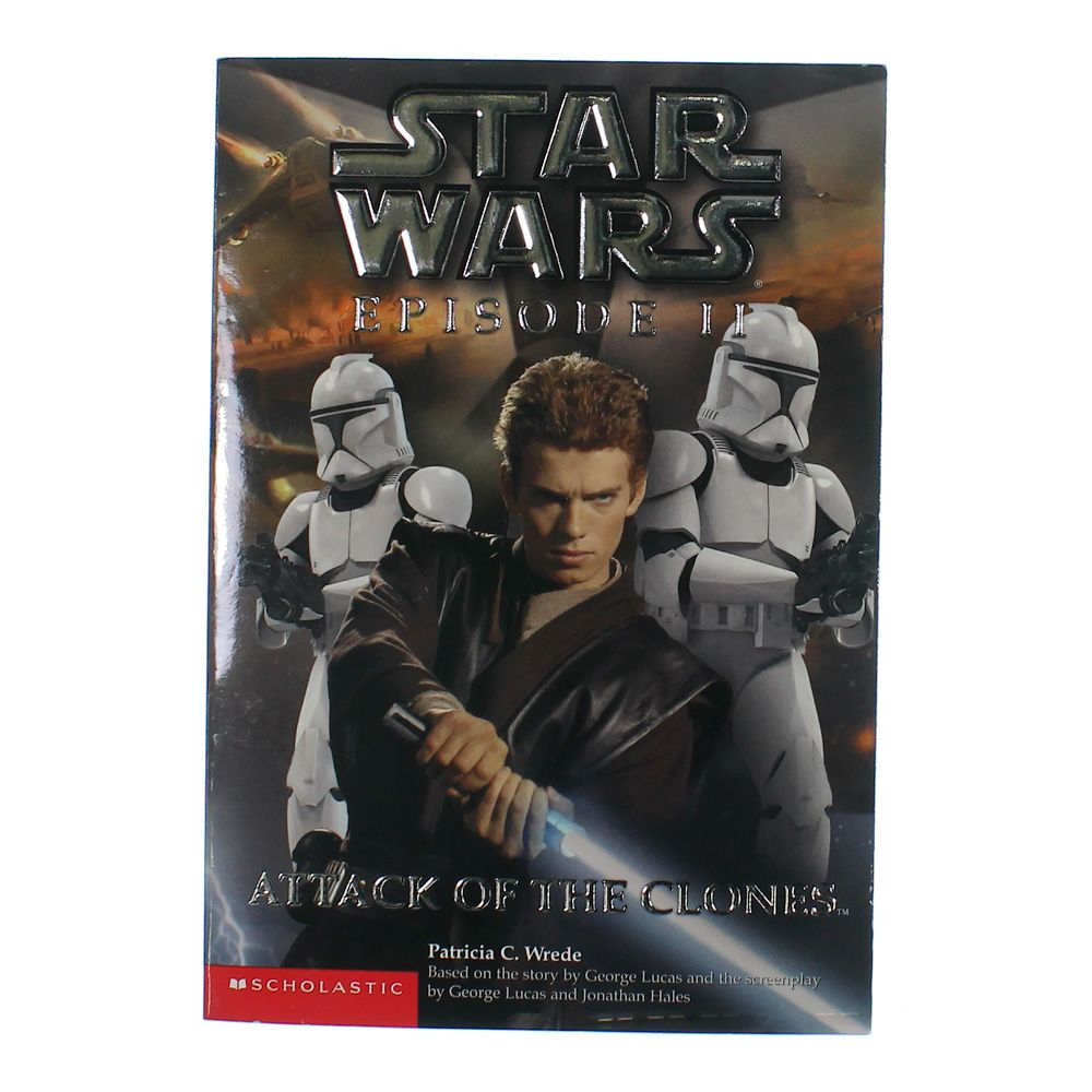 Book: Star Wars Episode II Attack Of The Clones 7982545138