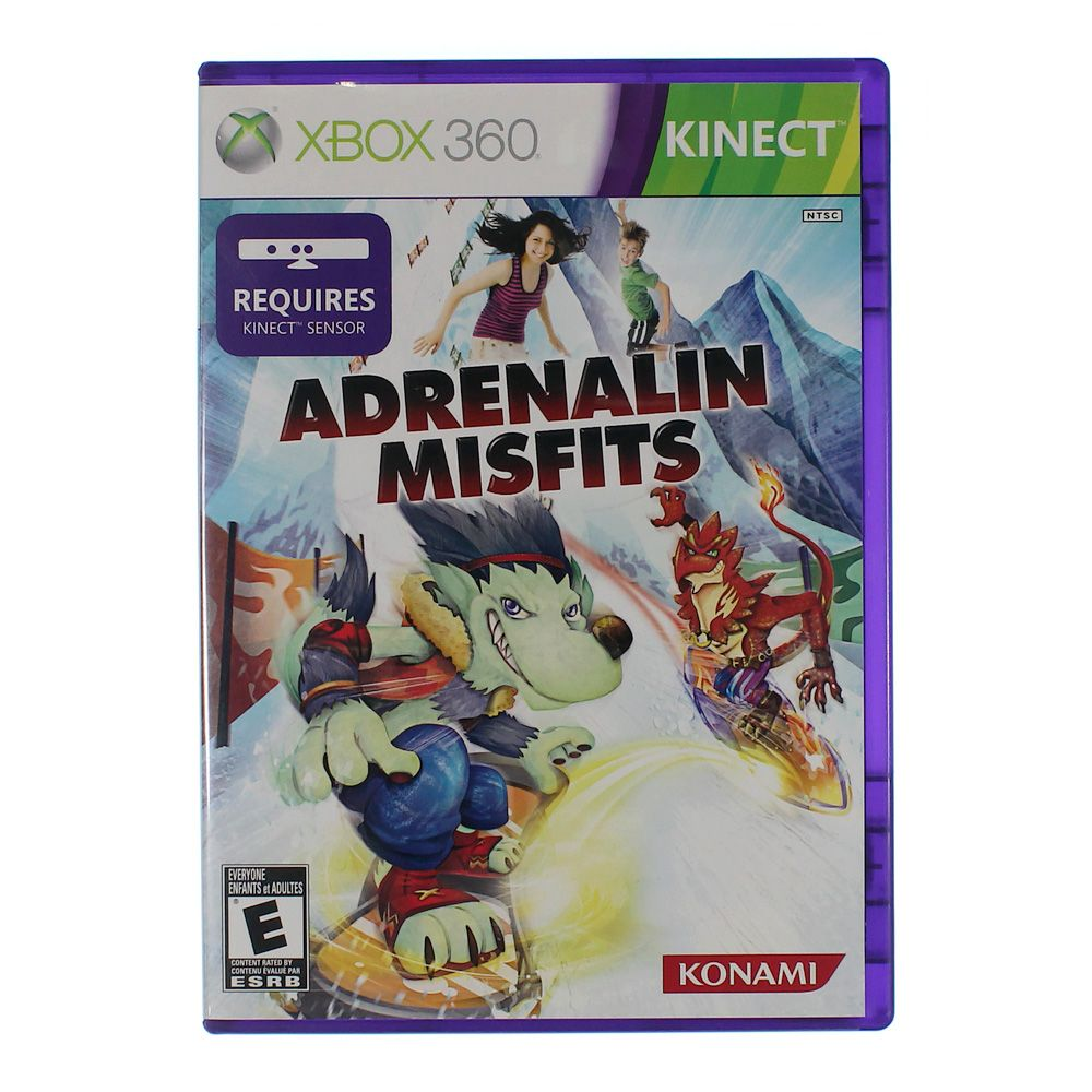 Image of Video Game: Adrenalin Misfits - Xbox 360