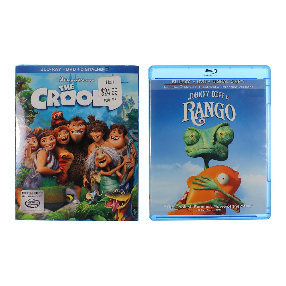 Movies: Rango & The Croods 8013065548