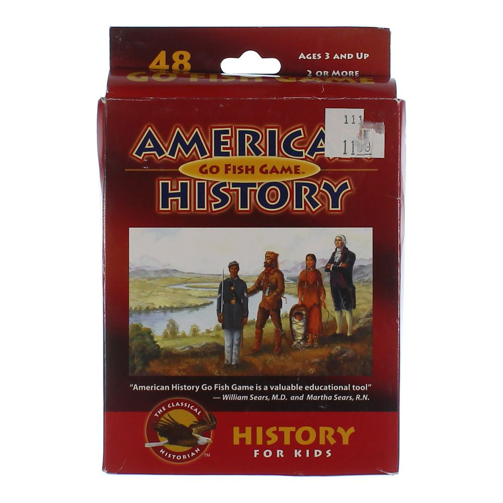 Image of Game: American History Go Fish Game