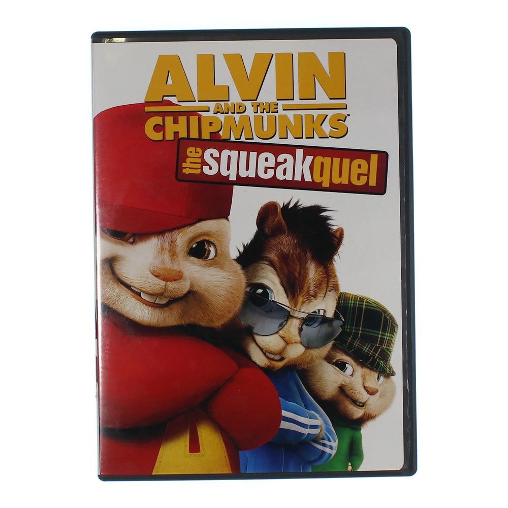 Movie: Alvin and the Chipmunks: The Squeakquel (Single-Disc Edition) 8061009550