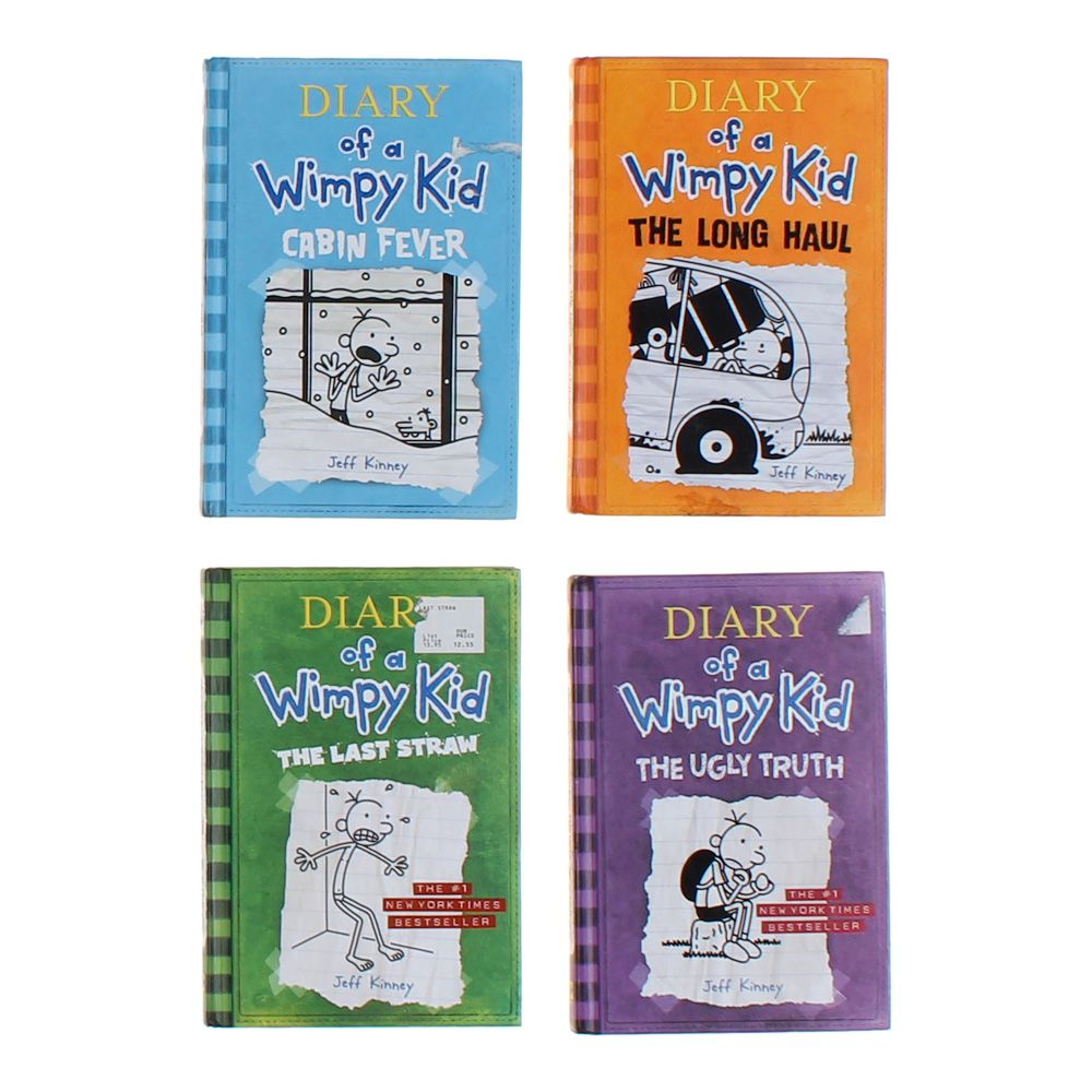 Diary of a Wimpy Kid Book Set 8084841132