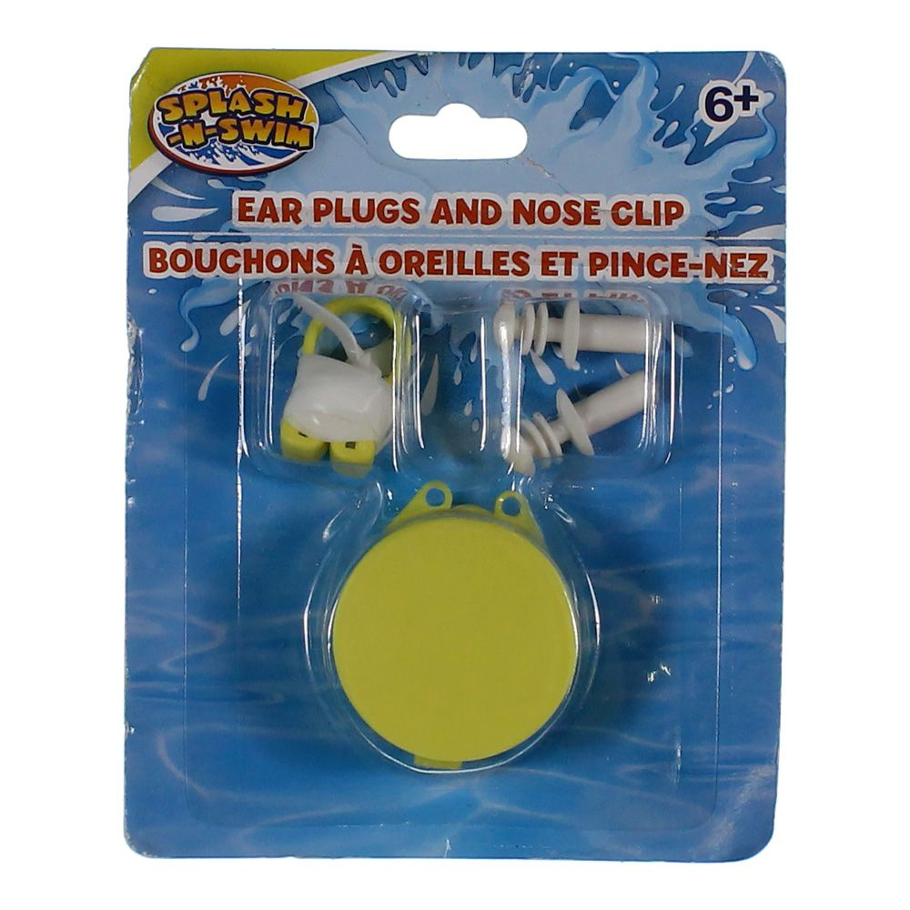 Image of Ear Plugs & Nose Clip