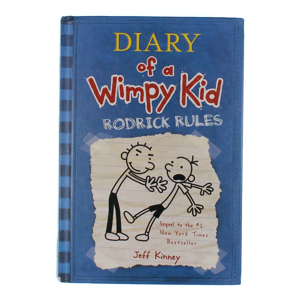 Book: Diary of a Wimpy Kid Rodrick Rules 8217596572