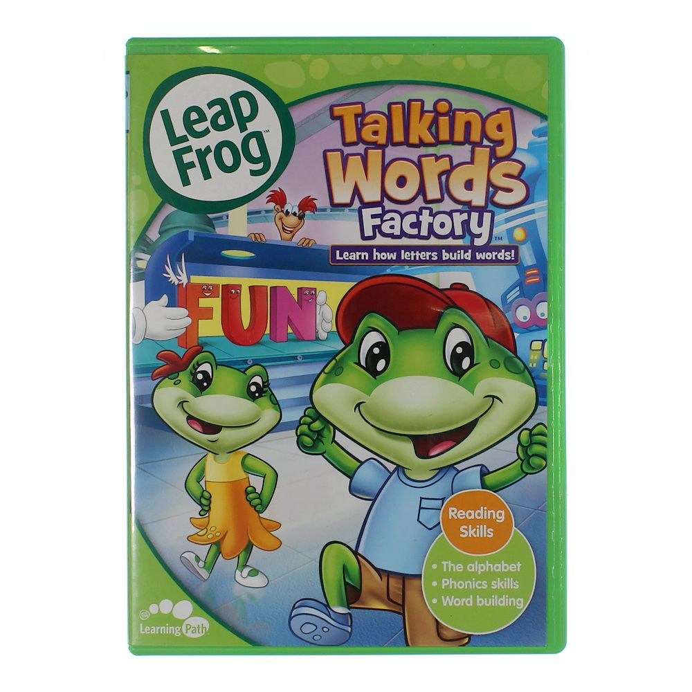 Video Game: LeapFrog: Talking Words Factory [With Flash Cards] [DVD] [English] [2003] 8276714015