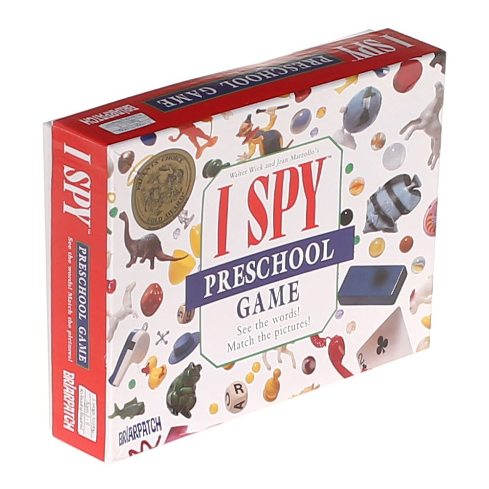 Image of 7 Pack BRIARPATCH INC. I SPY PRESCHOOL GAME Puzzle