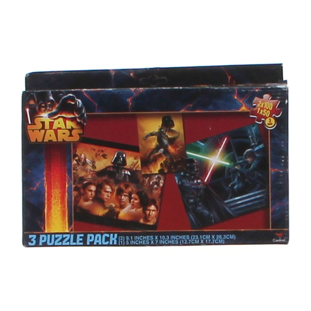 Star Wars 3 Puzzle Pack Puzzle 833324443