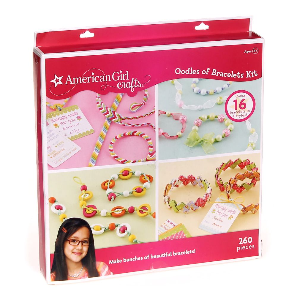 Image of American Girl Crafts Oodles Of Bracelets Kit