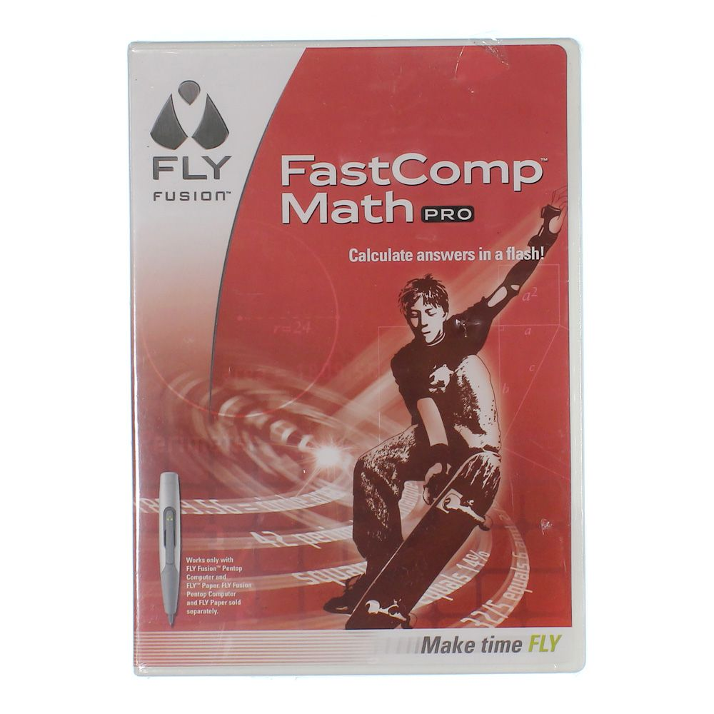 Image of CD: Fast Comp Math Pro